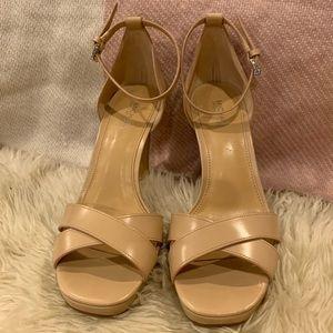 "MICHAEL Michael Kors Shoes - Michael by Michael Kors ""Divia"" Heels w/Box Size 7"